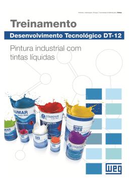 Apostila Curso DT-12: Pintura Industrial com Tintas Líquidas