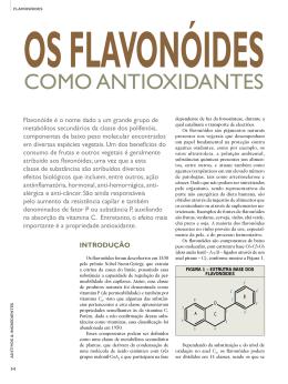 os flavonóides como antioxidantes