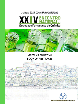 LIVRO DE RESUMOS BOOK OF ABSTRACTS