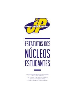 Estatutos Nucleo Estudantes