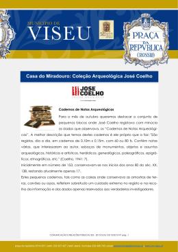 Casa do Miradouro: Coleção Arqueológica José Coelho