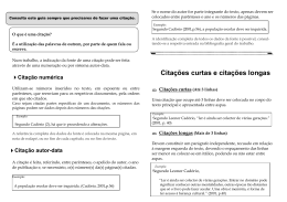 COMO fazer citações - Agrupamento de Escolas Dr António Granjo
