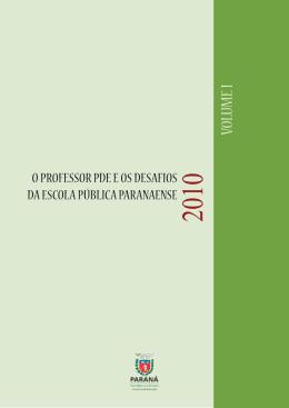 Untitled - Secretaria de Estado da Educação do Paraná