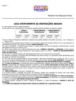 Marica 2006 prova - APEF-RJ
