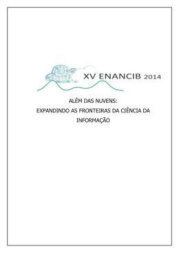 GT4 - ENANCIB 2014 - Universidade Federal de Minas Gerais