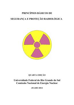 Princípios de Segurança e Proteção Radiológica, Terceira