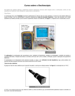 Curso sobre o Osciloscópio