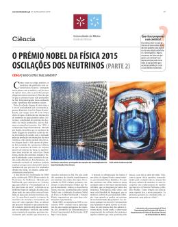 o prémio nobel da física 2015 oscilações dos neutrinos (parte 2)