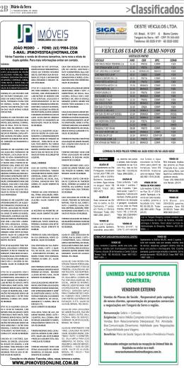 Página: B2 - Diário da Serra