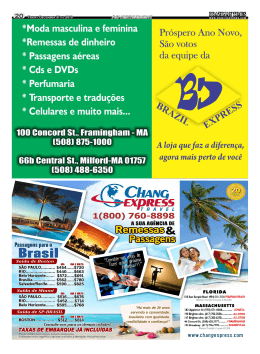 Brazilian Times Leia e anuncie (617) 625-5559