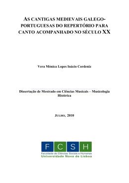 Dissertação - VERA - RUN - Universidade Nova de Lisboa