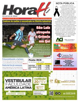 América Latina São Luiz atropela o Grêmio em Ijuí