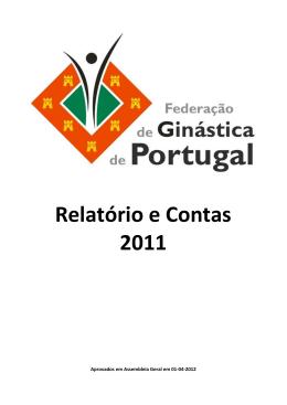 Relatório e Contas 2011