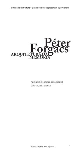 1ª edição | são paulo | 2012 Patrícia Rebello e
