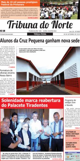 PRIMEIRA PRIMEIRA EDIÇÃO 8420 DE 30 DE