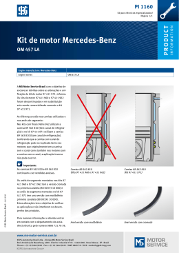 Kit de motor Mercedes-Benz
