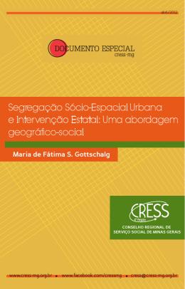 Segregação Socioespacial Urbana e Intervenção Estatal - cress-mg