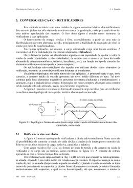 3. CONVERSORES CA-CC - RETIFICADORES - DSCE
