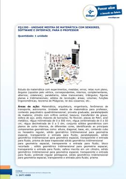 EQ129D - UNIDADE MESTRA DE MATEMÁTICA COM