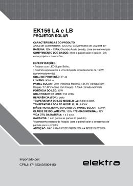 EK156 LA e LB