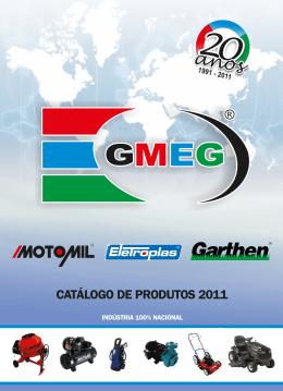 CATÁLOGO DE PRODUTOS 2011