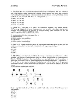 Genética Profº Léo Mariscal