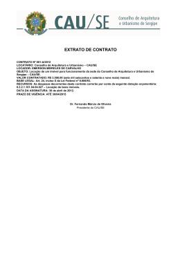 CONTRATO DE LOCAÇÃO NÃO RESIDENCIAL COM PRAZO