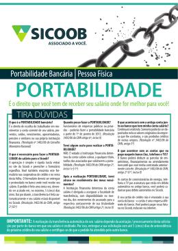 Portabilidade Bancária |Pessoa Física TIRA
