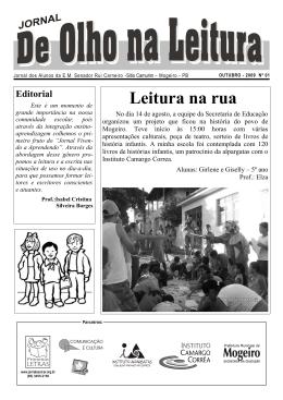 de olho na leitura 01 out 2009 plpb mogeiro