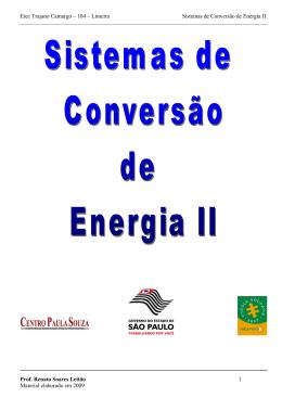 Sistemas de Conversão de Energia II
