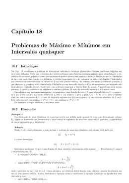 Capítulo 18 - Instituto de Matemática
