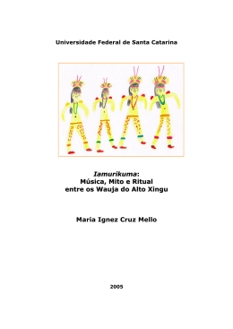 Iamurikuma: Música, Mito e Ritual entre os Wauja do Alto Xingu