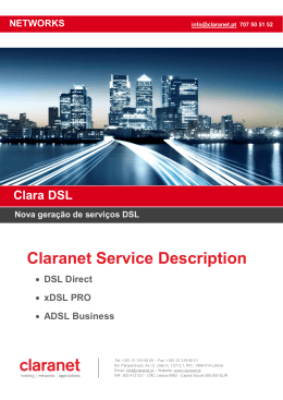 Claranet Service Description