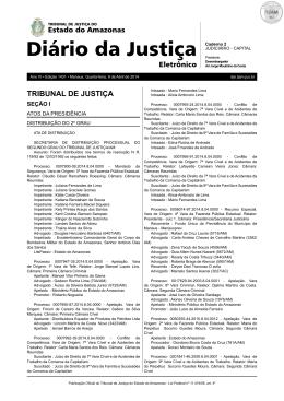 TRIBUNAL DE JUSTIÇA - Amazon Web Services