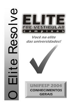 UNIFESP 2004 - Elite Pré-Vestibular