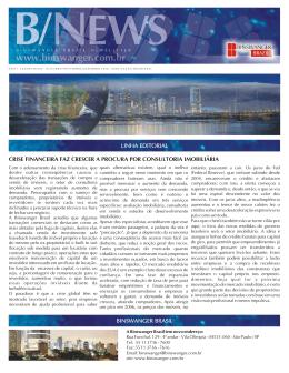 binswanger brasil linha editorial crise financeira faz crescer a