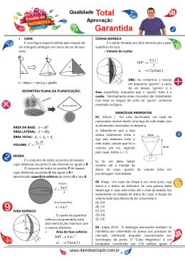 005 - geometria_espacial (cone e esfera)