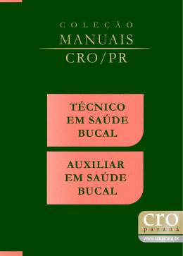Manual TSB-ASB - Conselho Regional de Odontologia do Paraná