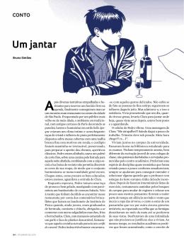 Um jantar - Revista Pesquisa FAPESP