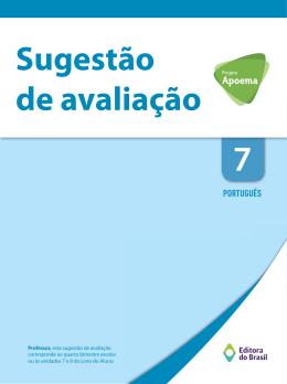 PORTUGUÊS - Editora do Brasil