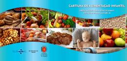 CARTILHA DE ALIMENTAÇÃO INFANTIL