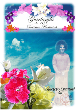 Guirlanda de 108 Divinas Histórias - Organização Sri Sathya Sai no