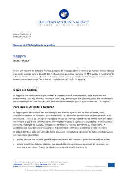 Keppra, INN-levetiracetam - European Medicines Agency
