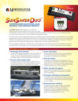 controlador solar para duas baterias com medidor remoto