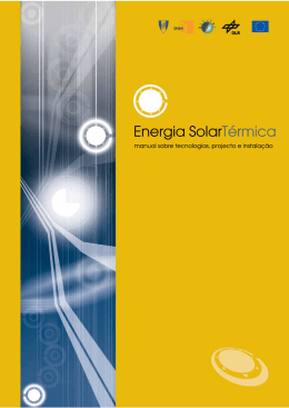 Manual de Energia Solar Térmico - Adjuto Martins Vasconcelos Junior