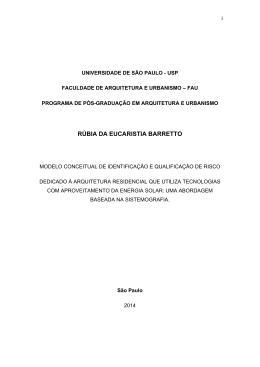 RÚBIA DA EUCARISTIA BARRETTO - Biblioteca Digital de Teses e
