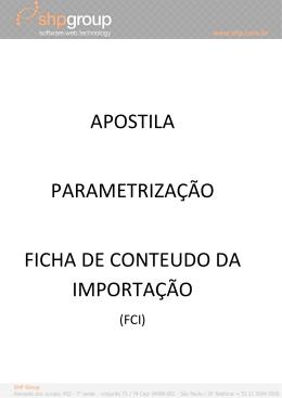 Apostila FCI