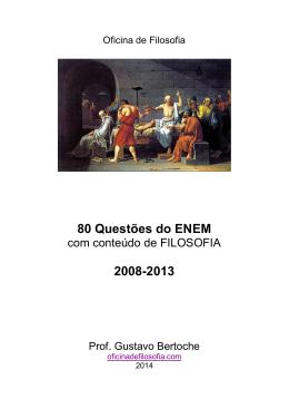 Simulado ENEM 2014 - Oficina de filosofia
