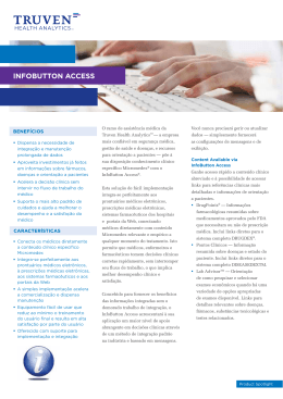INFOBuTTON ACCESS - Truven Health Analytics