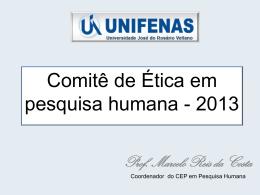 Comitê de Ética 2012